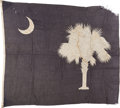 Military & Patriotic:WWII, South Carolina State Flag.. ...