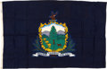 Military & Patriotic:WWII, Vermont State Flag.. ...