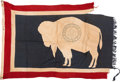 Military & Patriotic:WWII, Wyoming State Flag.. ...