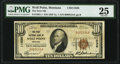 National Bank Notes:Montana, Wolf Point, MT - $10 1929 Ty. 1 The First National Bank Ch. # 11036 PMG Very Fine 25.. ...