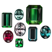 Unmounted Tourmaline ... (Total: 8 Items)