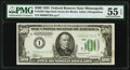 Small Size:Federal Reserve Notes, Fr. 2201-I $500 1934 Federal Reserve Note. PMG About Uncirculated 55 EPQ.. ...