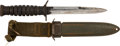 Edged Weapons:Knives, U.S. M-3 Combat Combat Knife.. ...