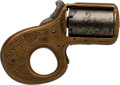 Handguns:Derringer, Palm, Reid Model My Friend Knuckle Duster Single Action Revolver.. ...