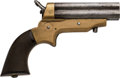 Handguns:Derringer, Palm, C. Sharps Four Barrel Pepperbox Pistol.. ...