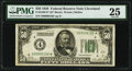 Small Size:Federal Reserve Notes, Fr. 2100-D* $50 1928 Federal Reserve Note. PMG Very Fine 25.. ...