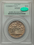 1935 50C Connecticut MS65 PCGS. CAC. PCGS Population: (1364/783). NGC Census: (1291/544). CDN: $275 Whsle. Bid for probl...