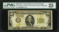 Fr. 2152-G* $100 1934 Light Green Seal Federal Reserve Note. PMG Very Fine 25