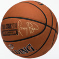 Basketball Collectibles:Balls, Larry Bird Signed Basketball....