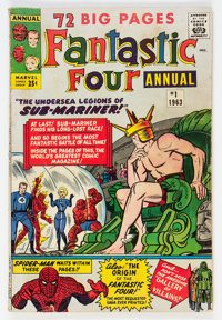 Fantastic Four Annual #1 (Marvel, 1963) Condition: VG-