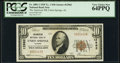 National Bank Notes:Alabama, Union Springs, AL - $10 1929 Ty. 1 The American National Bank Ch. # 12962 PCGS Very Choice New 64PPQ.. ...