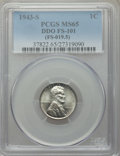 Lincoln Cents, 1943-S 1C Doubled Die Obverse, FS-101 MS65 PCGS. (FS-019.5). PCGS Population: (34/26). NGC Census: (1/2). ...