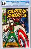 Silver Age (1956-1969):Superhero, Captain America #117 (Marvel, 1969) CGC FN 6.0 Off-white to white pages....