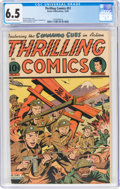 Golden Age (1938-1955):Superhero, Thrilling Comics #51 (Better Publications, 1945) CGC FN+ 6.5 Off-white to white pages....