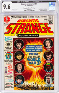Strange Adventures #226 Murphy Anderson File Copy (DC, 1970) CGC NM+ 9.6 White pages