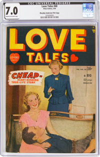 Love Tales #40 Murphy Anderson File Copy (Atlas, 1950) CGC FN/VF 7.0 Cream to off-white pages