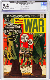 Star Spangled War Stories #157 Murphy Anderson File Copy (DC, 1971) CGC NM 9.4 Off-white to white pages