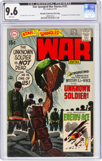 Star Spangled War Stories #151 Murphy Anderson File Copy (DC, 1970) CGC NM+ 9.6 White pages