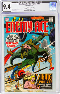 Star Spangled War Stories #149 Murphy Anderson File Copy (DC, 1970) CGC NM 9.4 White pages