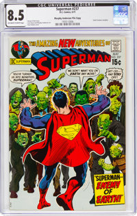 Superman #237 Murphy Anderson File Copy (DC, 1971) CGC VF+ 8.5 Off-white to white pages