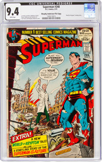 Superman #248 Murphy Anderson File Copy (DC, 1972) CGC NM 9.4 White pages
