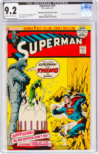 Superman #251 Murphy Anderson File Copy (DC, 1972) CGC NM- 9.2 Off-white to white pages