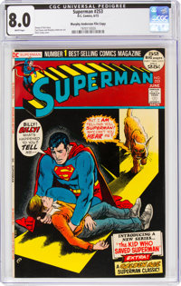 Superman #253 Murphy Anderson File Copy (DC, 1972) CGC VF 8.0 White pages