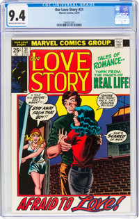 Our Love Story #31 (Marvel, 1974) CGC NM 9.4 Cream to off-white pages