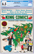 Platinum Age (1897-1937):Miscellaneous, King Comics #9 (David McKay Publications, 1936) CGC FN+ 6.5 Cream to off-white pages....
