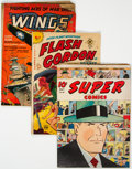 Golden Age (1938-1955):Miscellaneous, Golden Age Comics Group of 12 (Various Publishers, 1940s-50s) Condition: Average GD+.... (Total: 12 Comic Books)