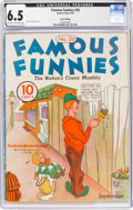 Platinum Age (1897-1937):Miscellaneous, Famous Funnies #26 Lost Valley Pedigree (Eastern Color, 1936) CGC FN+ 6.5 Light tan to off-white pages....