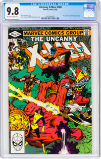 X-Men #160 (Marvel, 1982) CGC NM/MT 9.8 Off-white to white pages