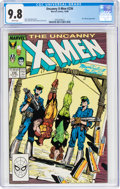 Modern Age (1980-Present):Superhero, X-Men #236 (Marvel, 1988) CGC NM/MT 9.8 White pages....