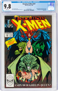 Modern Age (1980-Present):Superhero, X-Men #241 (Marvel, 1989) CGC NM/MT 9.8 White pages....