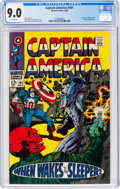 Silver Age (1956-1969):Superhero, Captain America #101 (Marvel, 1968) CGC VF/NM 9.0 White pages....