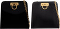 Luxury Accessories:Bags, Ferragamo Set of Two Bags. Condition: 3. See Extended Condition Report for Sizes.... ... (Total: 2 )