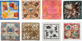 Luxury Accessories:Accessories, Hermès Set of 8: Silk Scarves. Condition: 2. See Extended Condition Report for Sizes.... ... (Total: 8 )