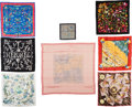 Luxury Accessories:Accessories, Set of Eight: Hermès Silk Scarves. Condition: 1. See Extended Condition Report for Sizes.... ... (Total: 8 )