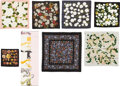 Luxury Accessories:Accessories, Set of Eight: Assorted Silk Scarves. Condition: 2. See Extended Condition Report for Sizes.... ... (Total: 8 )