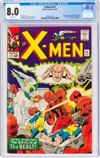 X-Men #15 (Marvel, 1965) CGC VF 8.0 White pages