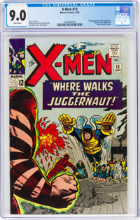 X-Men #13 (Marvel, 1965) CGC VF/NM 9.0 White pages