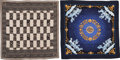 """Luxury Accessories:Accessories, Hermès Set of Two: Silk & Cashmere Scarves. Condition: 1. 55"""" Width x 55"""" Height. ... (Total: 2 )"""