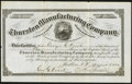 Miscellaneous:Other, Marlboro, NH- Thurston Manufacturing Company Stock Certificate 3 Shares Aug. 5, 1880 Very Fine. . ...