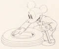 Animation Art:Production Drawing, Mickey's Service Station Mickey Mouse Production Drawing (Walt Disney, 1935).. ...