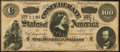 Confederate Notes:1864 Issues, T65 $100 1864 PF-2 Cr. 493 Very Fine+.. ...