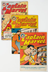 Captain Marvel Adventures Group of 6 (Fawcett Publications, 1947) Condition: Average VG/FN.... (Total: 6 )