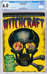 Witchcraft #2 (Avon, 1952) CGC FN 6.0 Off-white pages