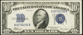 Fr. 1704 $10 1934C Silver Certificate. About Uncirculated