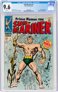 Silver Age (1956-1969):Superhero, The Sub-Mariner #1 (Marvel, 1968) CGC NM+ 9.6 White pages....