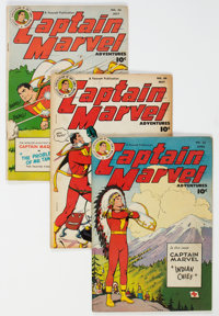 Captain Marvel Adventures Group of 6 (Fawcett Publications, 1948) Condition: VG.... (Total: 6 )